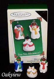 miniature ornaments characters oakview collectibles