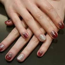 26 red and silver glitter nail art designs ideas design
