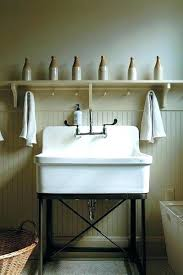 cast iron laundry sink utility sinks at lowes full size of utility sink freestanding cast