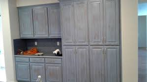 giving kitchen cabinets a unique distressed finish in oakdale ca
