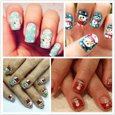 5 dramatic christmas nail art designs for you beauty life