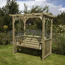 Pergola Ideas Uk by Wondrous Wooden Arbor With Pergola Roof Design Featuring Wooden