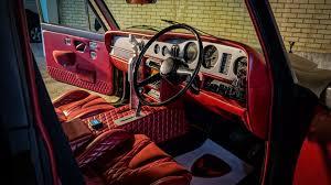 matte red rolls royce evil rolls royce silver shadow drift car selling for 130k