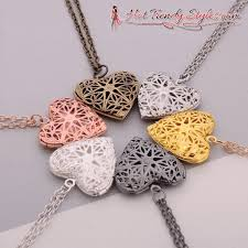 long locket pendant necklace images Elegant work of heart secret message locket pendant necklace hot gif