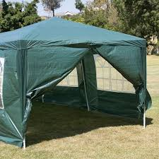 10 x 30 dark green party tent canopy gazebo
