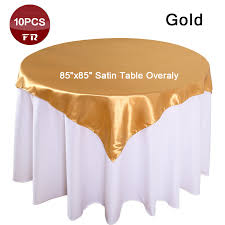 Gold Chair Sashes Retail 10pcs Pack Cheap Table Overlay Of Weddings 85