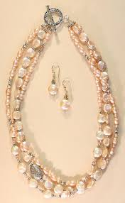 freshwater pearl necklace set images Miracle freshwater pearls necklace best necklace jpg