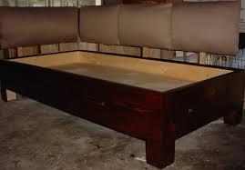 Make Your Own Platform Bed Frame Bed Bath Home Interiors With Platform Bed Plans For Bedroom