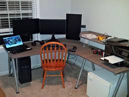 gaming corner desk ikea bekant gaming desk best home furniture decoration