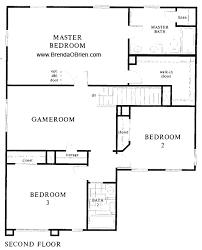 upstairs floor plans st at vistoso 2121 model upstairs