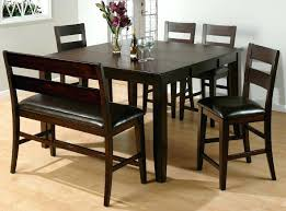 Dining Tables With Bench Seating Dining Table Bench Seat With Back U2013 Mitventures Co