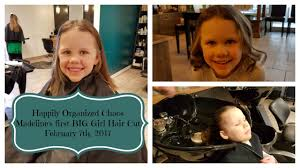 caption for big haircut madeline gets her first big girl haircut youtube