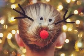 Hochsteckfrisurenen Weihnachten by 31 Frisuren Für Weihnachten Lustige Und Festliche Ideen