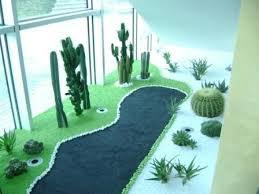 giardini interni casa giardino zen con piante grasse lithos color lithos color marmo
