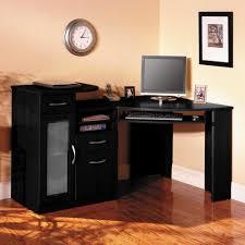 Corner Home Office Furniture Black Corner Desk Furniture Home Office Black Corner Desk With