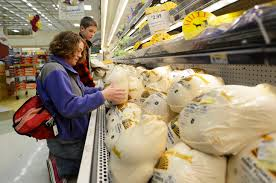 grocery stores gear up for thanksgiving chaos this is like our