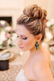 bridal hair bun 20 breezy wedding hairstyles