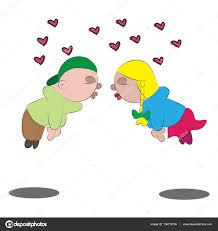 imagenes de amor con muñecos animados escena de amor dibujos animados archivo imágenes vectoriales