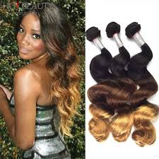 ombre hair extensions uk aliexpress buy ombre hair 3 tone ombre hair