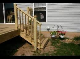 How To Install Stair Banister Attaching Deck Stair Railing Installing Deck Stairs And Railings