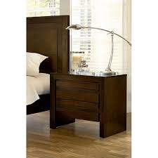 2 drawer finger pull nightstand with power strip free shipping