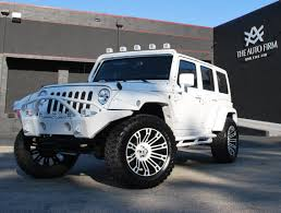 2013 Avorza Jeep Wrangler White Edition The Auto Firm By Alex