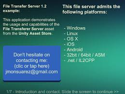 file transfer server test android apps on google play