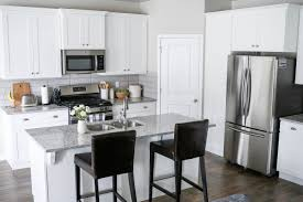 professionally painted kitchen cabinets white kitchen makeover with rocky mountain painters little miss