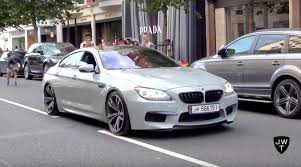 matte grey bmw video nardo grey bmw m6 gran coupé w akrapovic exhaust revs