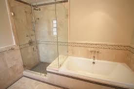 a master bath full frameless glass shower nott u0026 associates