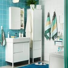 Ikea Meuble Double Vasque by Petites Salles De Bains Ikea Marie Claire
