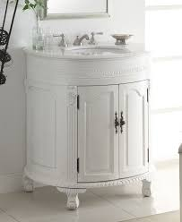 Antique Style Bathroom Vanity by Adelina 32 Inch Antique White Single Sink Bathroom Vanity Antique