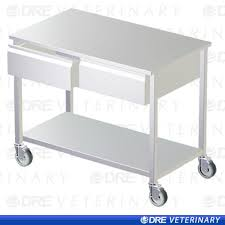 stainless steel prep table with drawers dre stainless steel mobile exam table with drawers