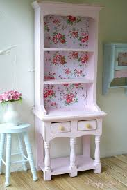 Shabby Chic Kitchen Wallpaper by Such A Pretty Upcycled Dresser Soft Pink Paintwork With