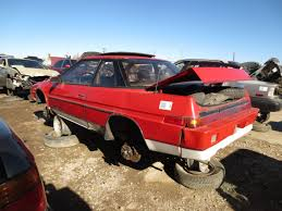 subaru xt junkyard find 1985 subaru xt 4wd turbo the truth about cars
