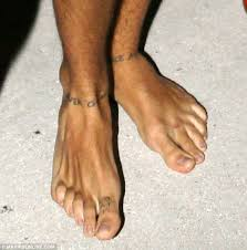 Mystery I U0027m Never Gonna by One Direction U0027s Harry Styles Shows Off New Ankle Tattoos Which