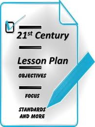 lesson plan template for 21st century learning targets