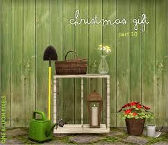 christmas gift part 10 gardening tools flowers shelves