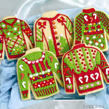 ugly christmas sweater cookie kit the green head