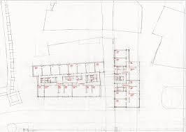 H2o Residences Floor Plan by Diener U0026 Diener St Alban Tal Basel 1986 Zoning The Floor