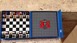 star wars lego travel chess set travels youtube