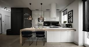Chalkboard Kitchen Backsplash Kitchen Scandinavian Kitchen Features White Cabinet With Honeycomb