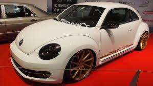 stanced volkswagen beetle volkswagen beetle 2 0 turbo tuning at essen motorshow exterior