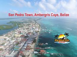 san pedro town ambergris caye belize 4k drone footage 2016