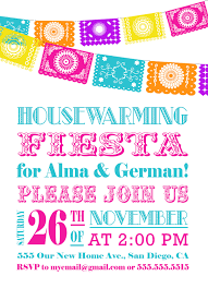 Free Housewarming Invitation Card Template Free Printable Fiesta Party Invitations Affordable Neabux Com