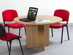 table ronde de bureau table ronde kamos 120 cm piètement en étoile