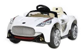 kid car white maserati style 12v kids electric ride on car with parental