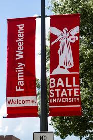 Ball State Parking Map by Family Weekend Ball State University