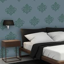 Damask Wall Decor Damask Stencils Yvonne Reusable Stencils For Wall Decor And