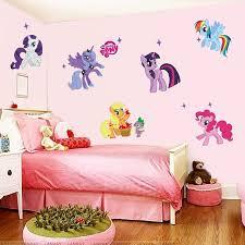 stickers pour chambre d enfant cheval de bande dessinée stickers muraux pour chambres d enfants